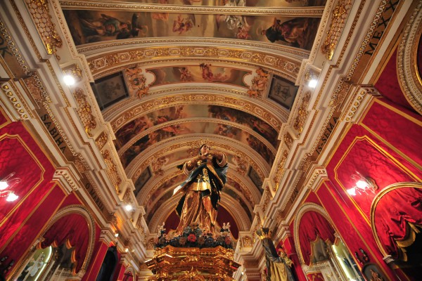 Gozo Malta church