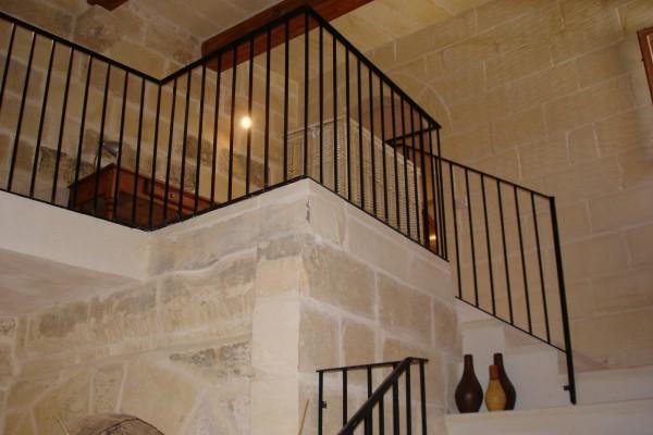 Dar Munxar Farmhouse Gozo staircase