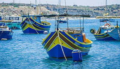 Luzzu boat