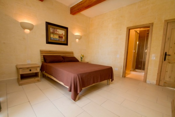 Casa Sammy Farmhouse Gozo master bedroom