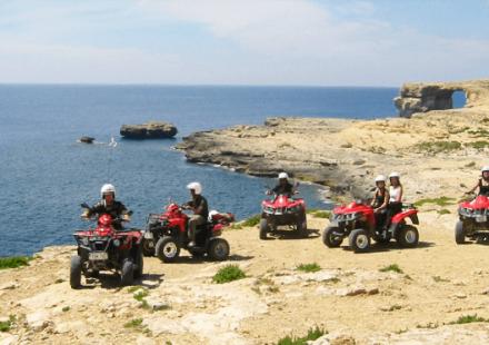 Quad tour Gozo Malta