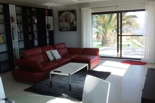 Villa Veduta Gozo living room