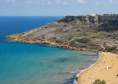 bays and beaches in gozo