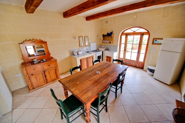 Ta' Tonina Farmhouse Gozo Kitchen