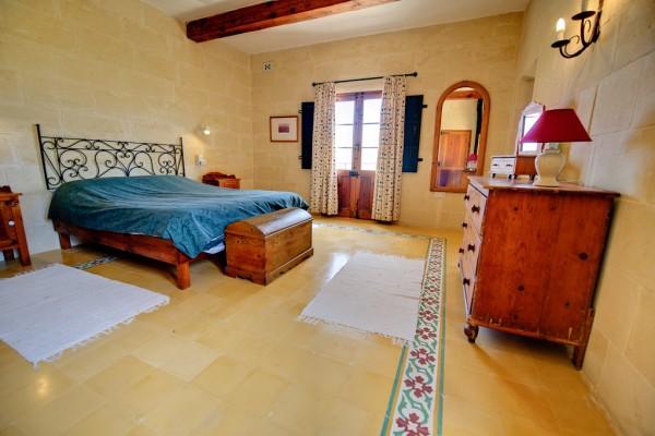 Ta' Tonina Farmhouse Gozo Master Bedroom