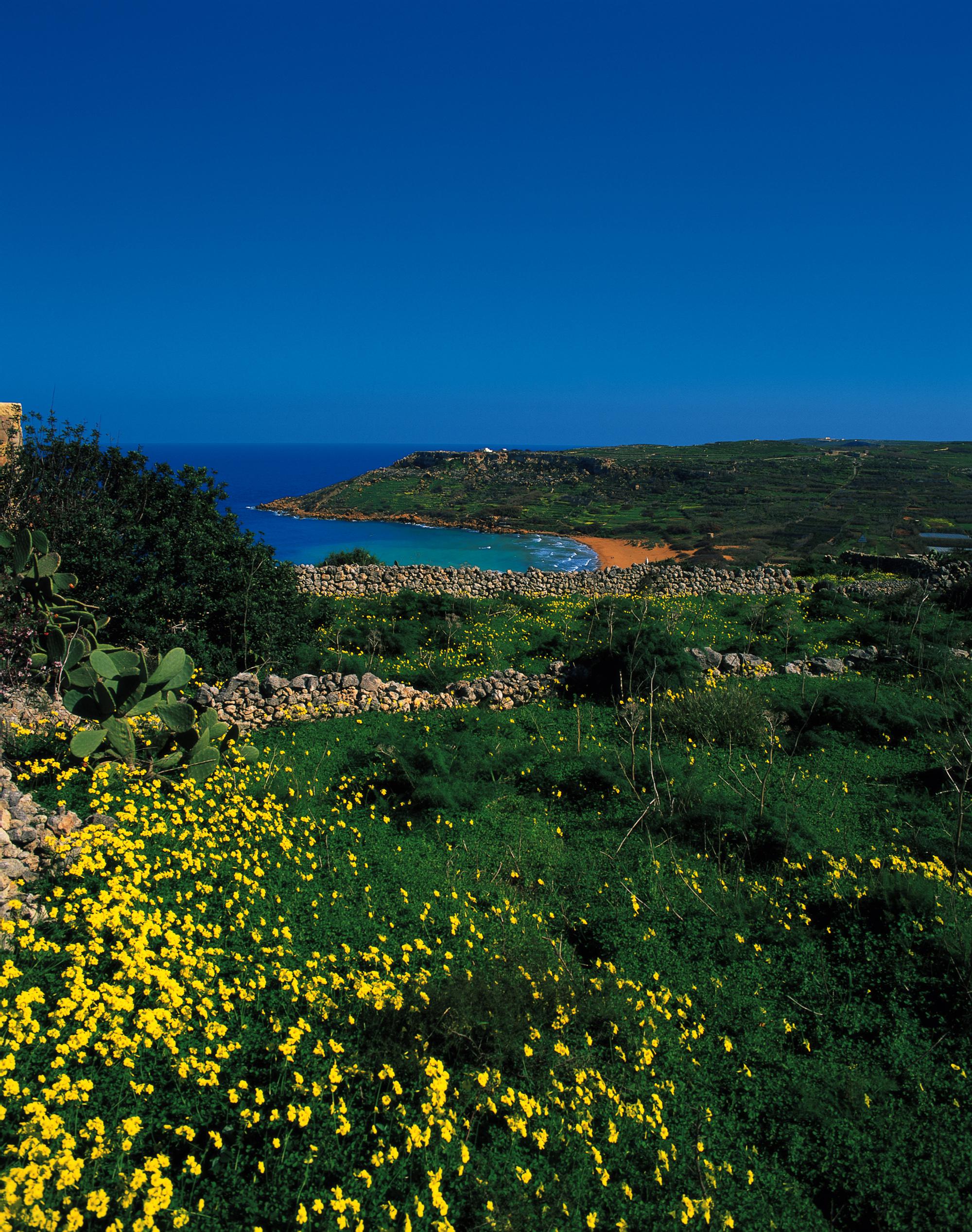 gozo-countryside-walk-beach-view